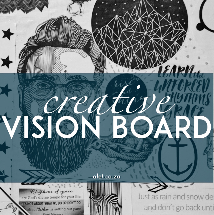 Vision Board Workshop - 16 x 20