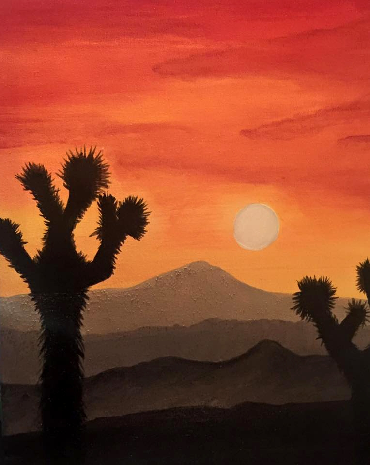 Joshua Tree Sunset - 16