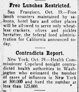 https://chroniclingamerica.loc.gov/lccn/sn99021999/1918-10-20/ed-1/seq-1/#date1=1918&sort=date&date2=1918&words=influenza&language=&sequence=0&lccn=&index=5&state=&rows=20&ortext=&proxtext=influenza&year=&phrasetext=&andtext=&proxValue=&dateFilterType=yearRange&page=500
