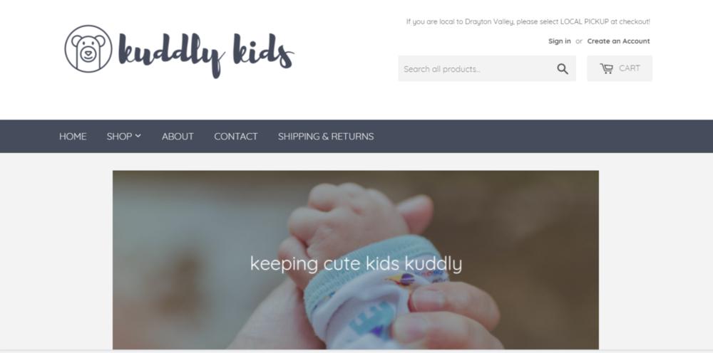 Kuddly Kids Screenshot