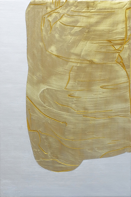 Plentiful , 2015, acrylic on Japanese Magnolia, 30x20cm