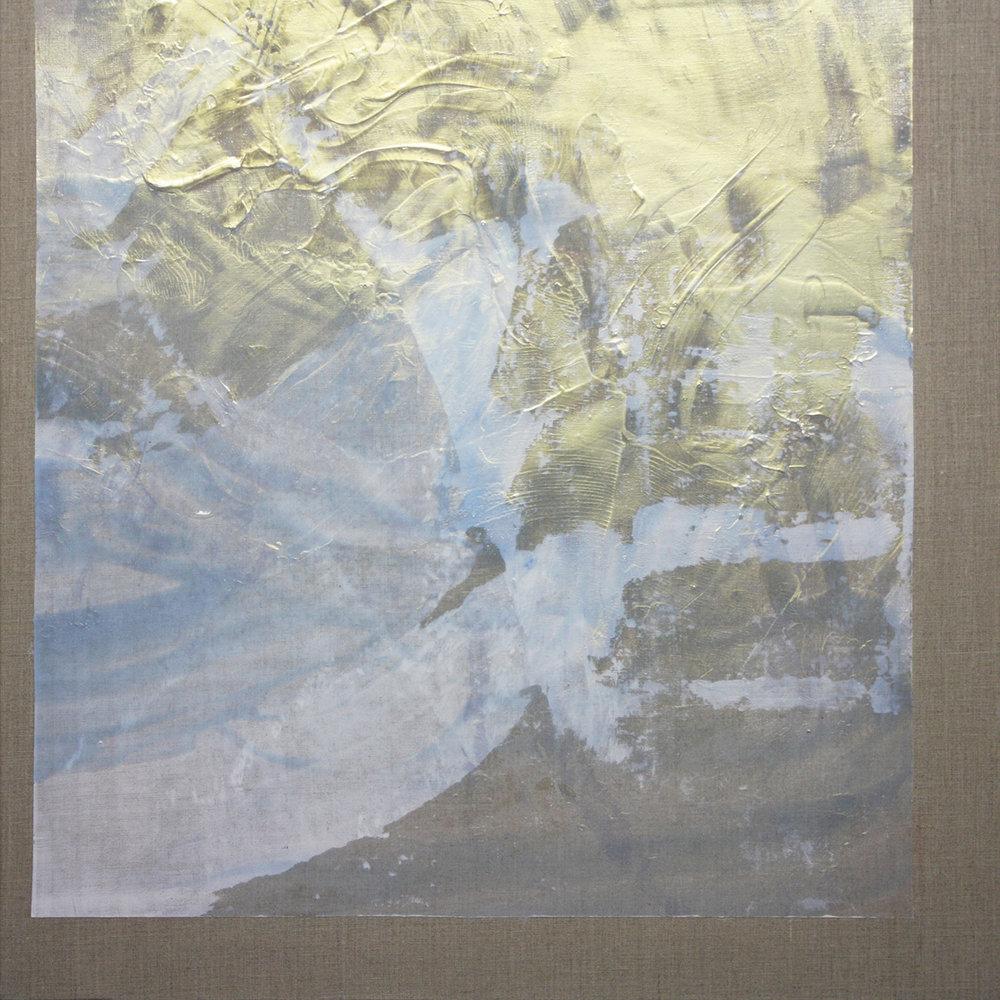 Broad bright , 2015, acrylic on linen, 56x56cm.