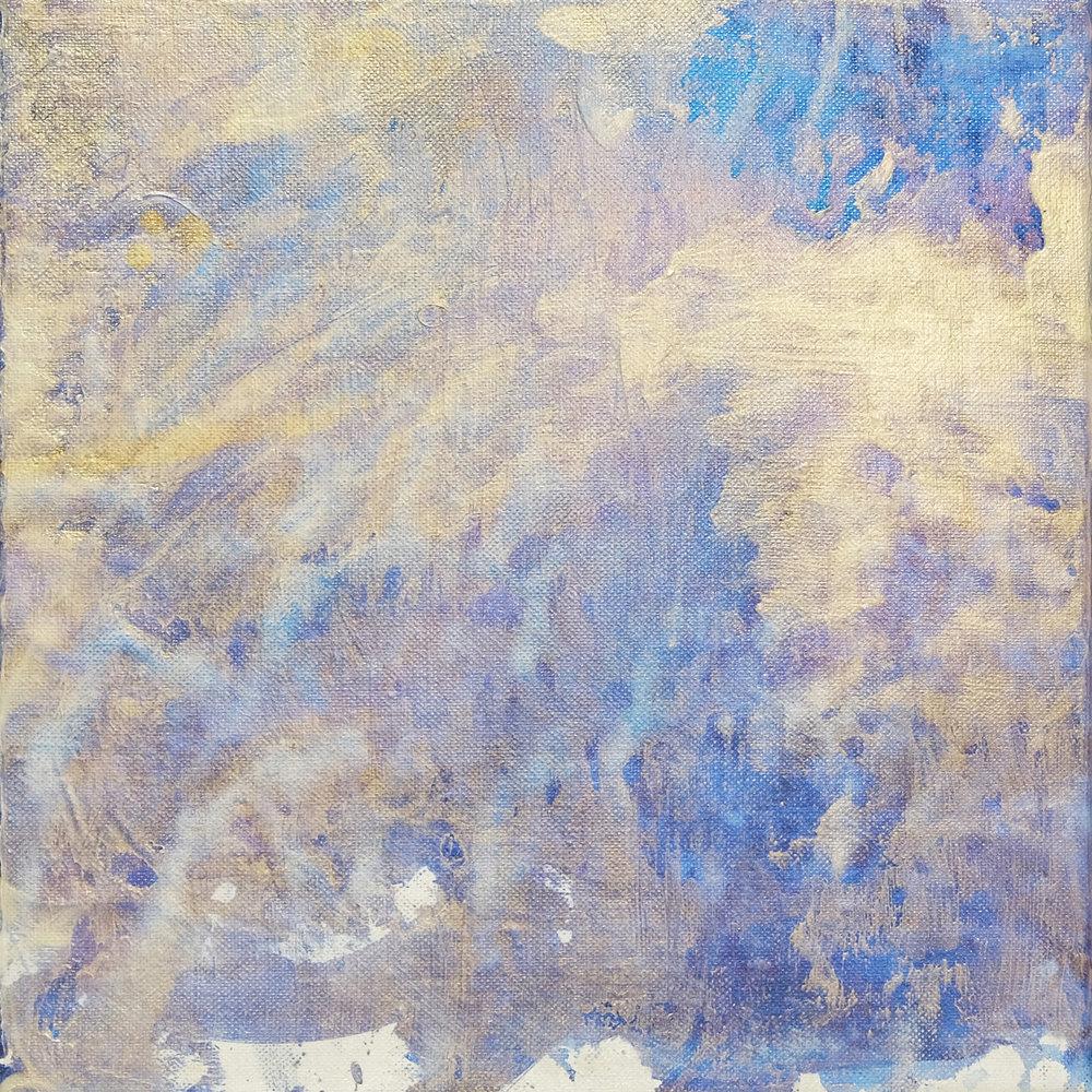 Brush , 2014, acrylic on linen, 31x31cm