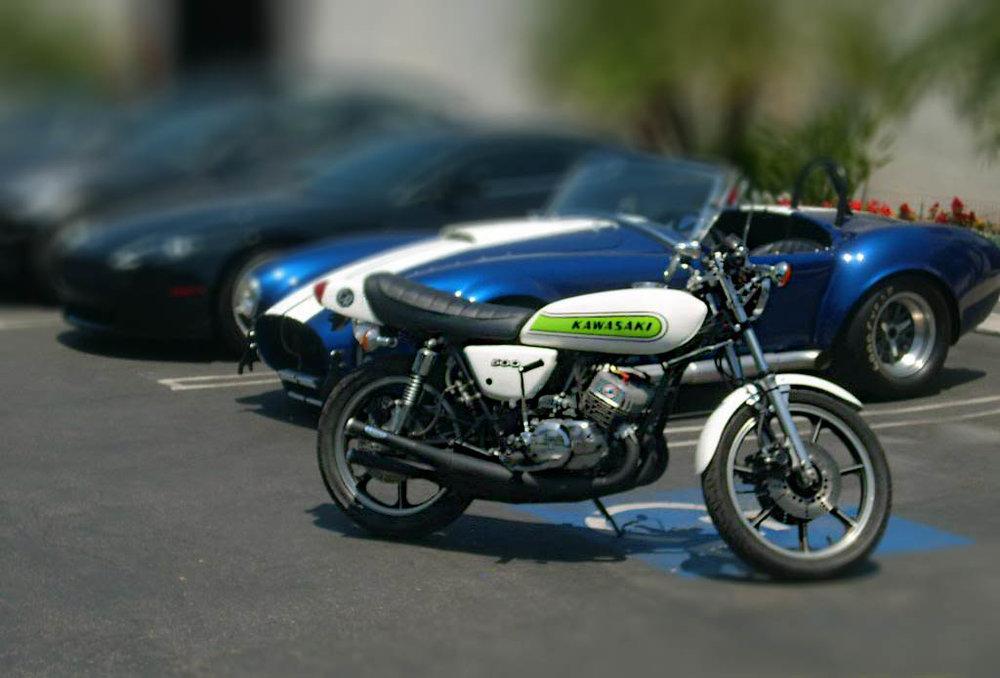 Ron's 1975 Kawasaki H1 500 restoration.
