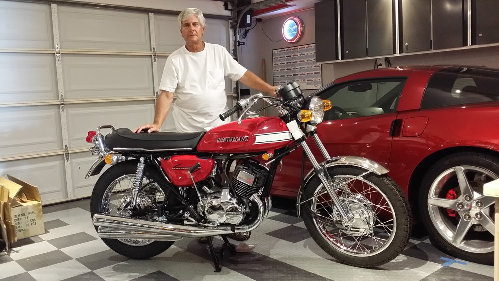 1970 H1 500 Restoration - Won the Carmel Mission Classic