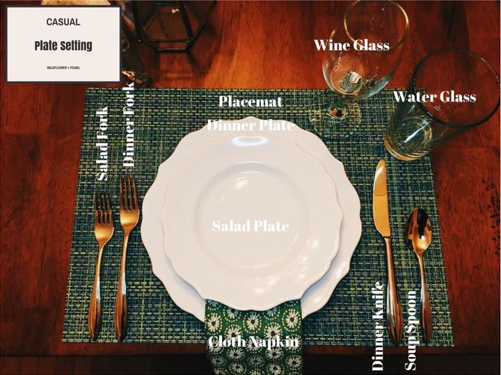 Superbe Arrange Your Casual Table Setting. FullSizeRender
