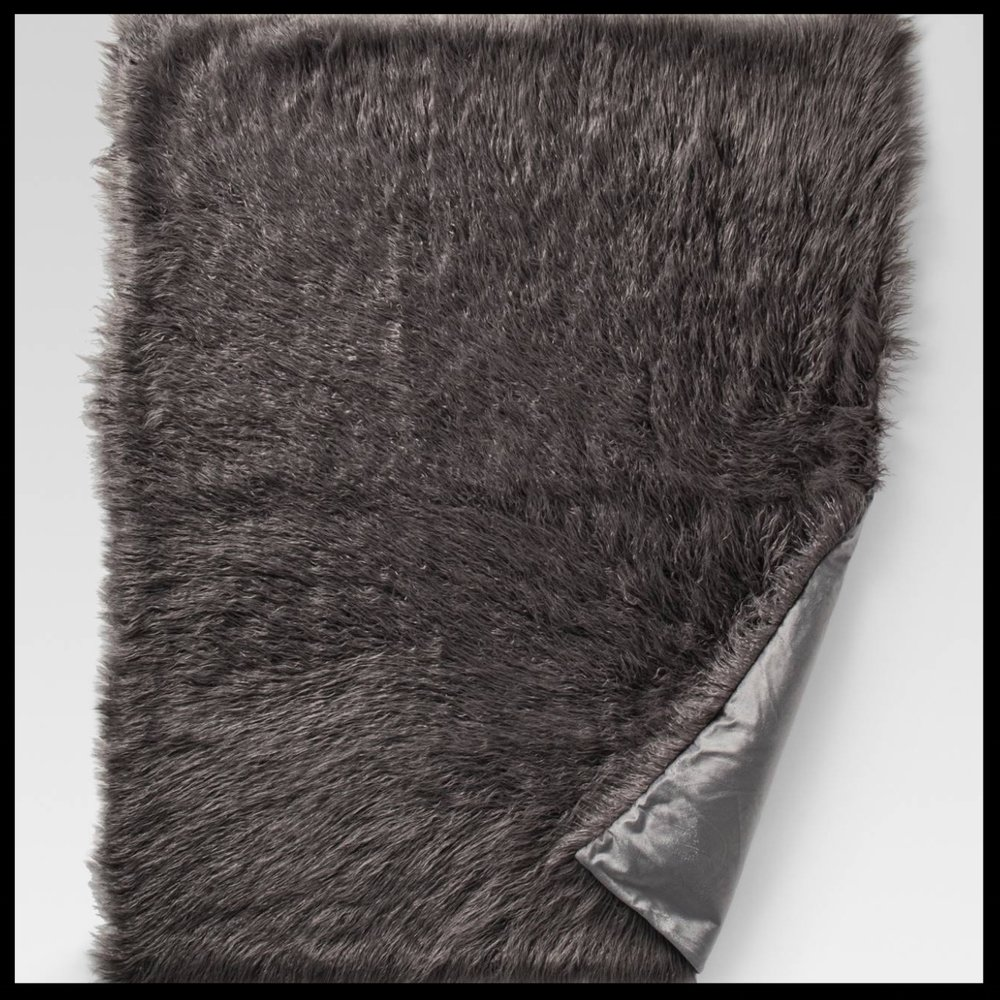 Mongolian Faux Fur Throw Blanket - Project 62™ - $33.24 - A woman can ever have enough faux fur throws. This Mongolian Faux Fur Throw Blanket by Project 62 will add a touch of glam to any room. Throws are always a great gift.