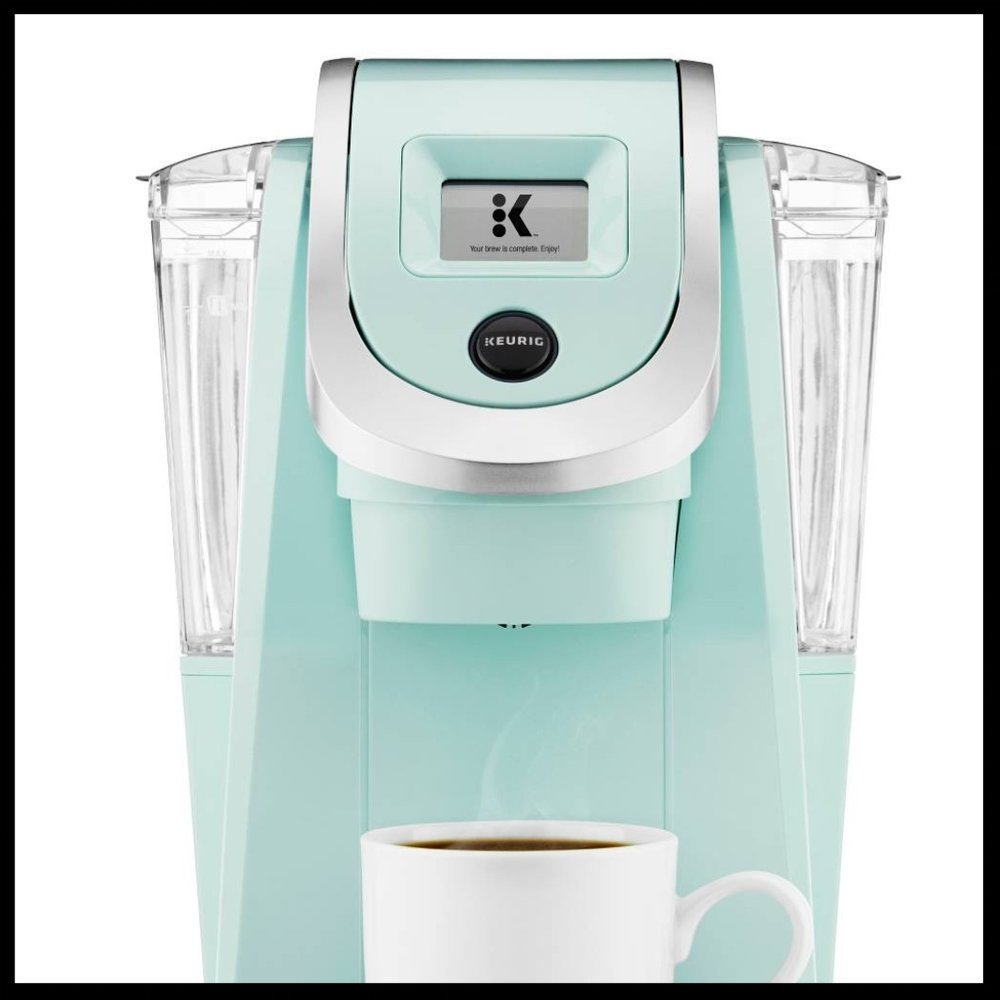 Keurig® K200 Single-Serve K-Cup® Pod Coffee Maker - $89.99 - This Keurig K200 Single-Serve K-Cup Pod Coffee Maker is the ideal gift for your favorite sleepy head. She will surely thank you.