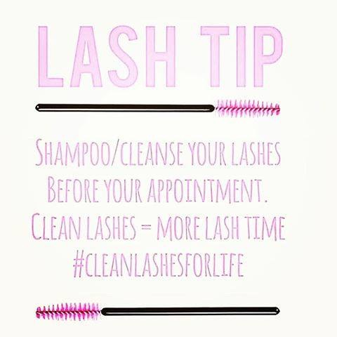 Clean Lash Extensions