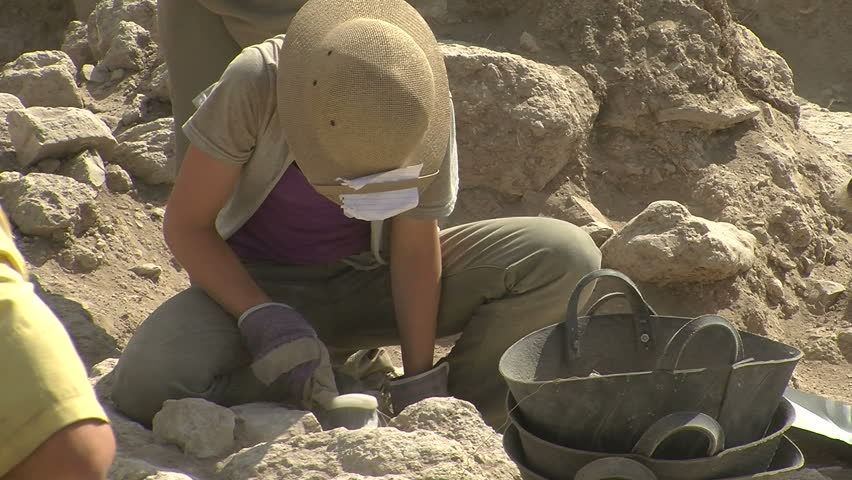 Eric's beliefs have been cemented by archaeological finds in the Holy Land.