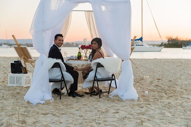 Proposing...the point in a mans life were nerves are at an all time high. Will she say yes? For this gent she did say yes. Styling and setup by the awesome team at @unforgettableproposals
