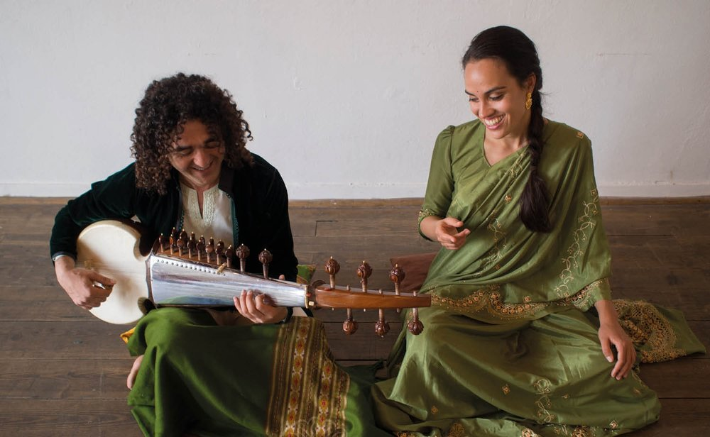 'Being influenced by Jazz,Electronic music and Carnatic singing I'm using loopstation, vocal effects, tanpura and synth to arrange existing compositions or to create new ones'. - Ishtar Bakhtali