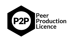 If no other source is specified, all the original contents of this website are licensed under a  Peer Production, P2P Attribution-ConditionalNonCommercial-ShareAlikeLicense .
