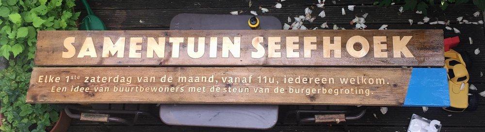 Community garden in Antwerp