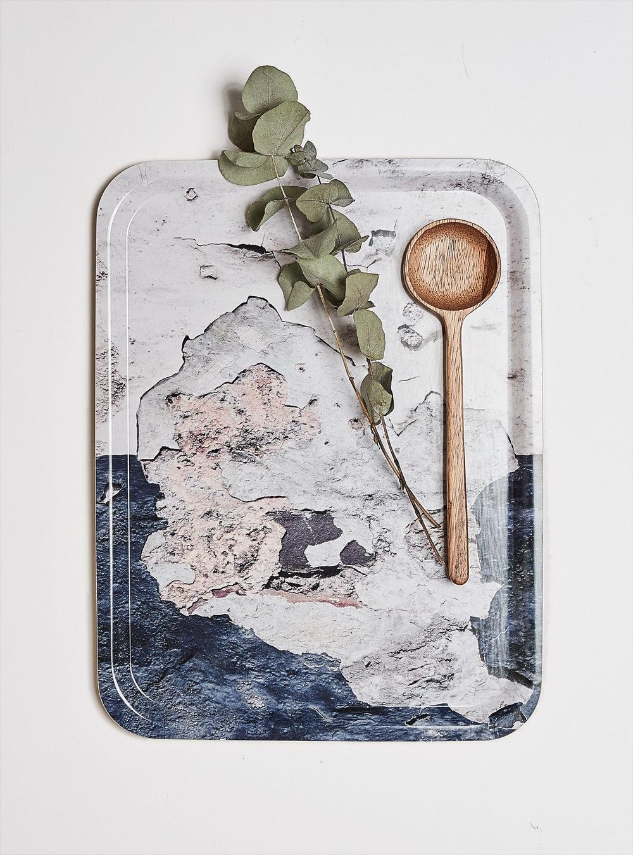 New textures birchwood tray