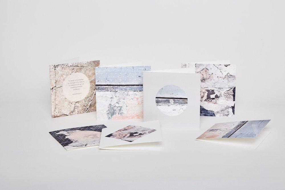 greetings cards, coastal inspired