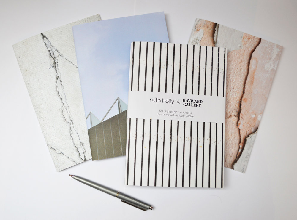 Ruth Holly X Hayward Gallery Set of 3 Notebooks