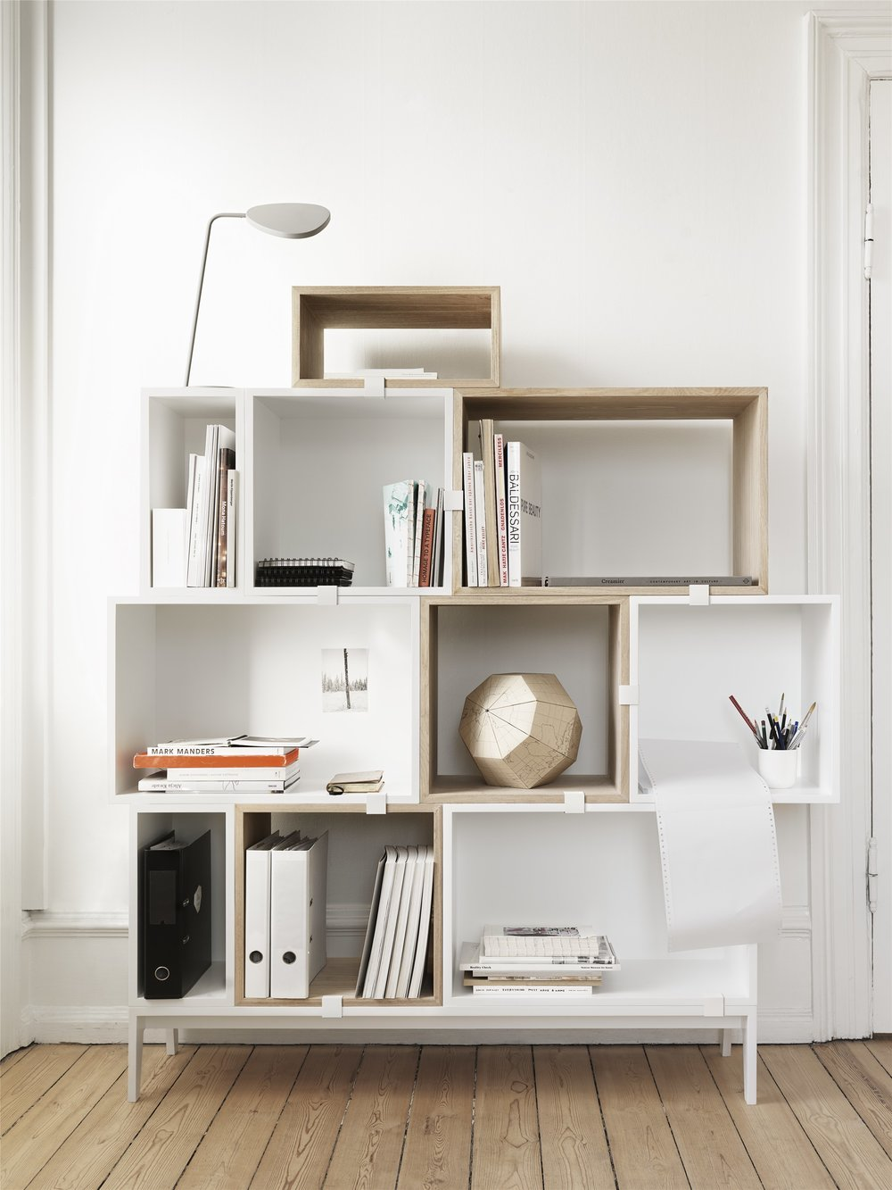 Mini Stacked Shelving System - MUUTO - from £89.00