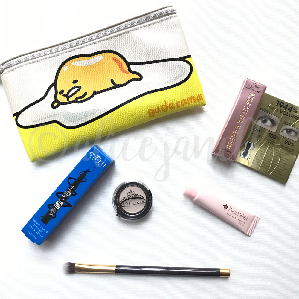 This month's Ipsy haul. Interestd? Try a month FREE by clicking here.