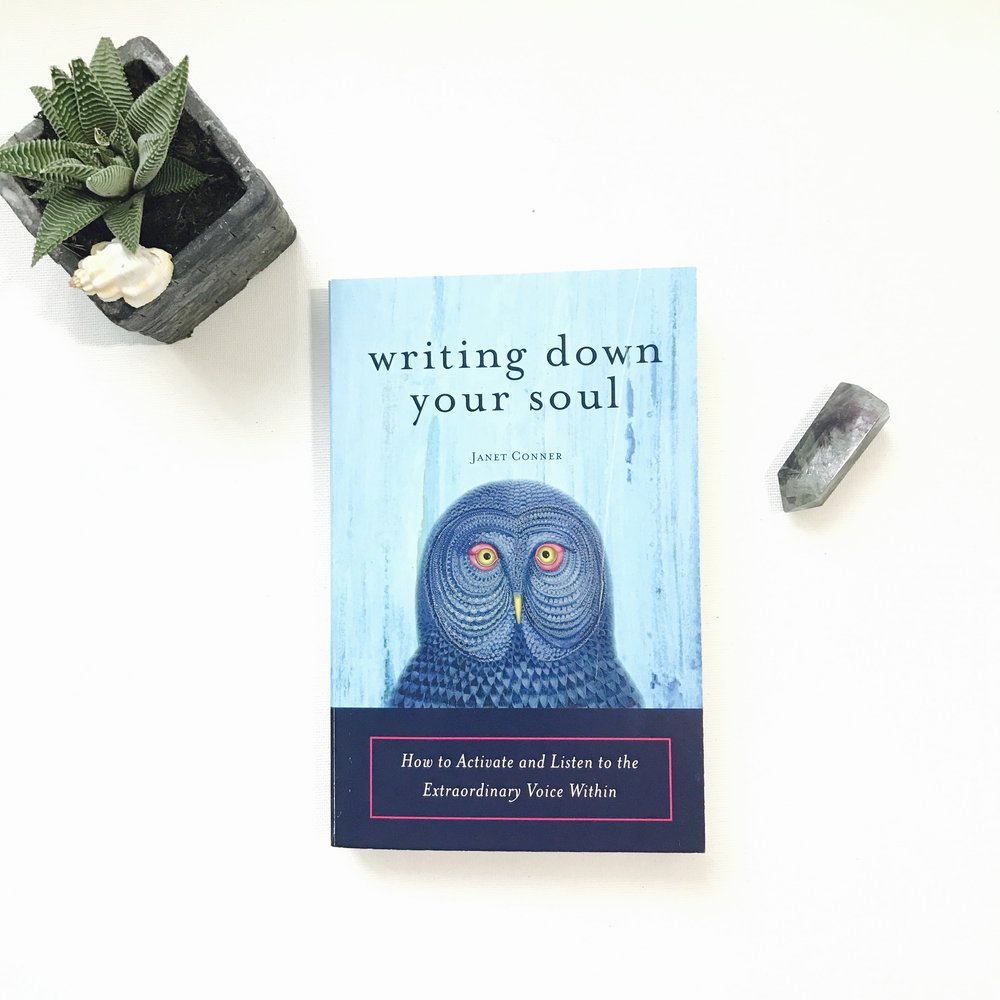writing down your soul by Janet Connor