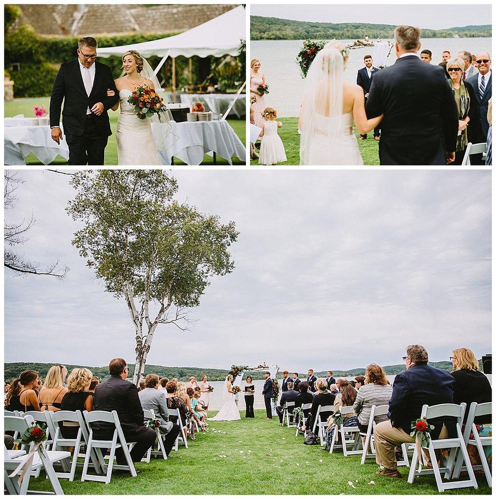 Boyne Mountain Wedding Lakeside
