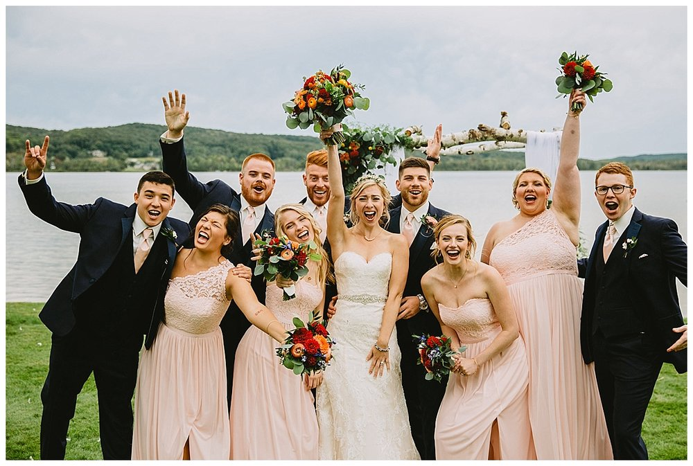 Boyne Mountain Wedding Party