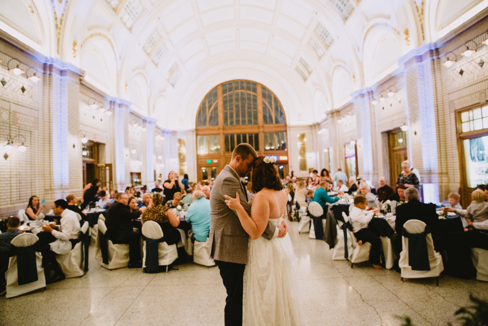 Fort Wayne Wedding at Baker Street Station