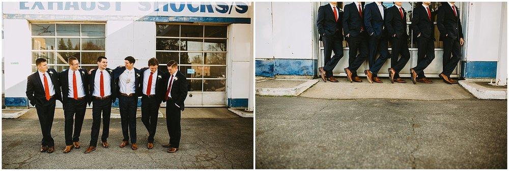 groomsmen Goei Center Grand Rapids