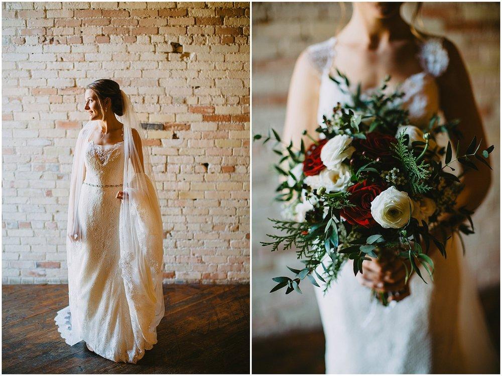 Bride bouquet Goei Center Grand Rapids