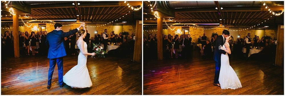 first dance wedding Goei Center Grand Rapids