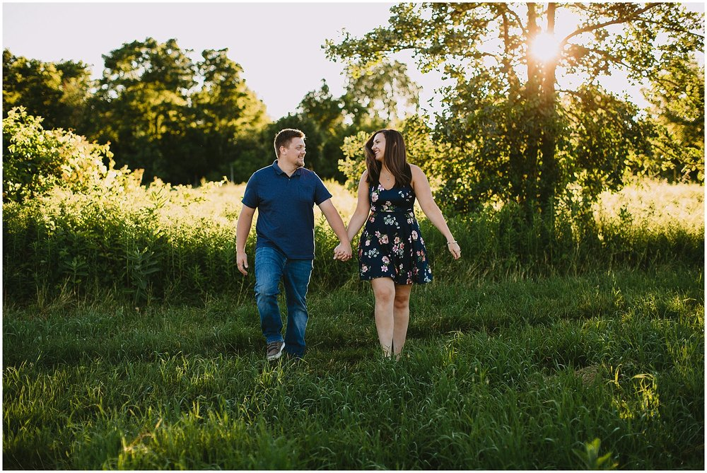 Kalamazoo wedding photographer engagement session