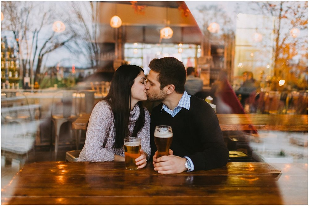 brewery engagement session arcadia brewing kalamazoo