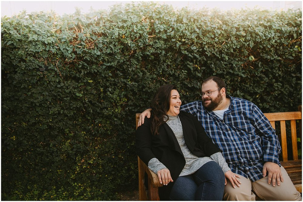 Matthaei Botanical Gardens Engagement Session