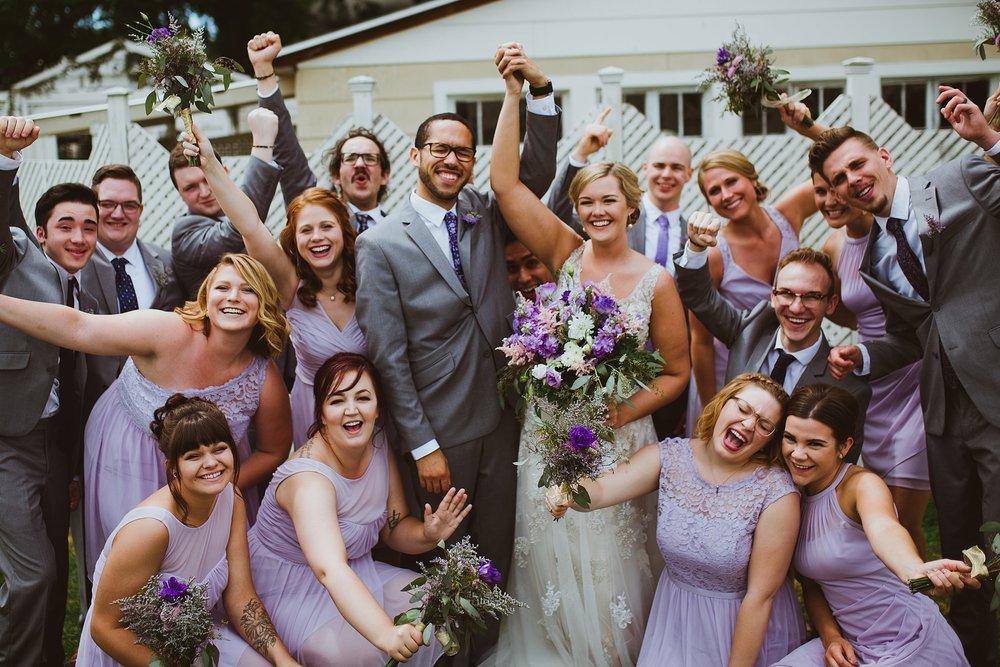 wedding party bridal party sundance studios benton harbor