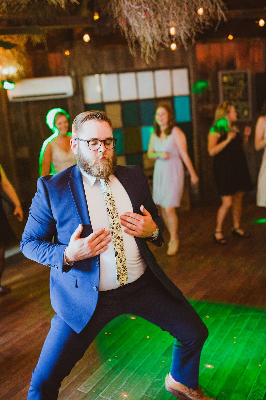 crazy reception dancing sundance studios benton harbor wedding