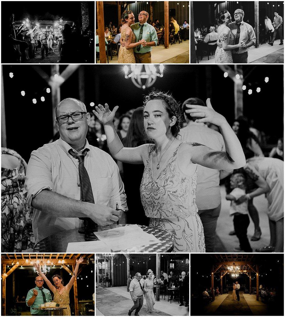 winery reception indiana wedding photography
