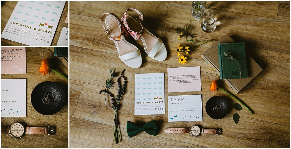 boho camp blodgett wedding details