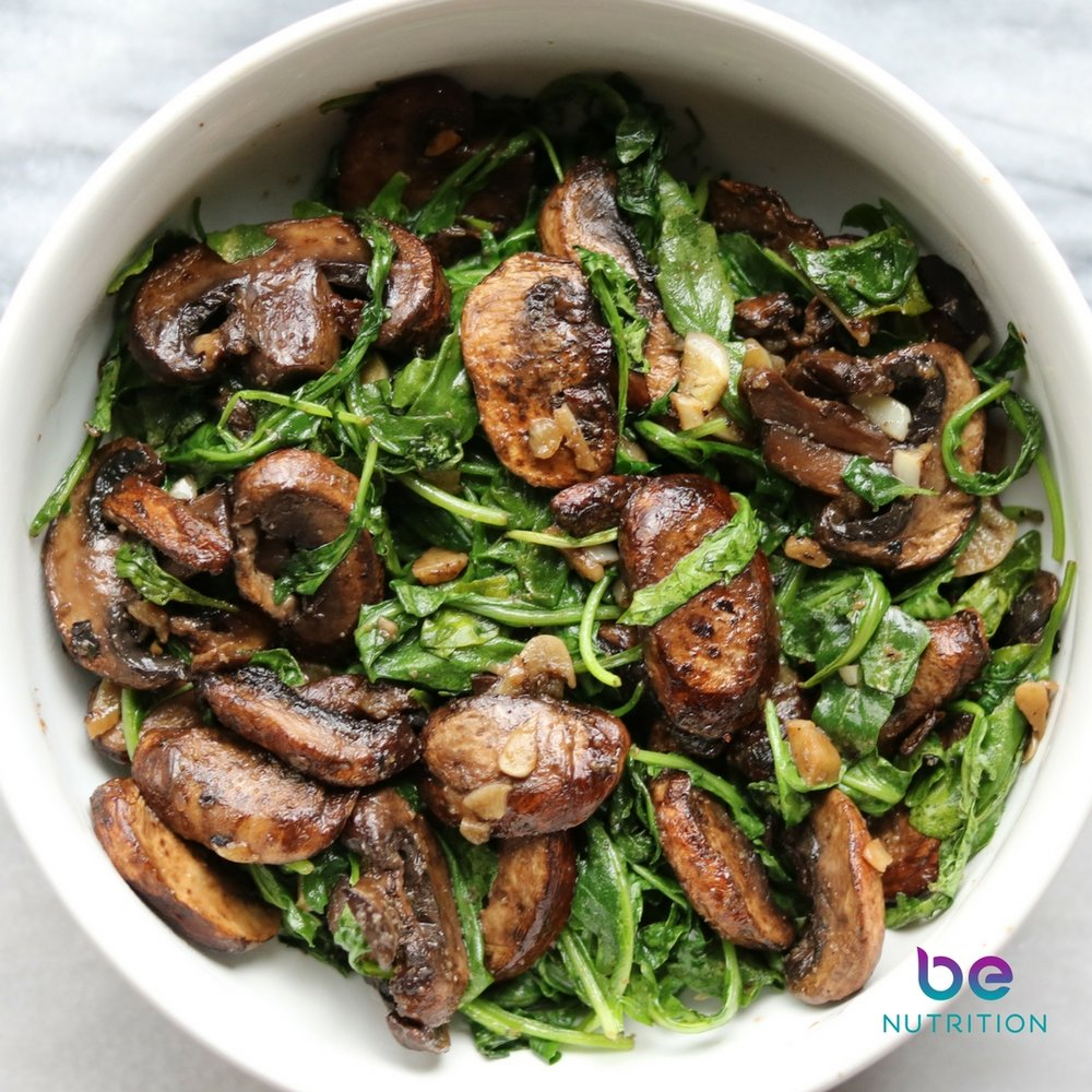 Quick Roasted Mushrooms with Arugula.jpg