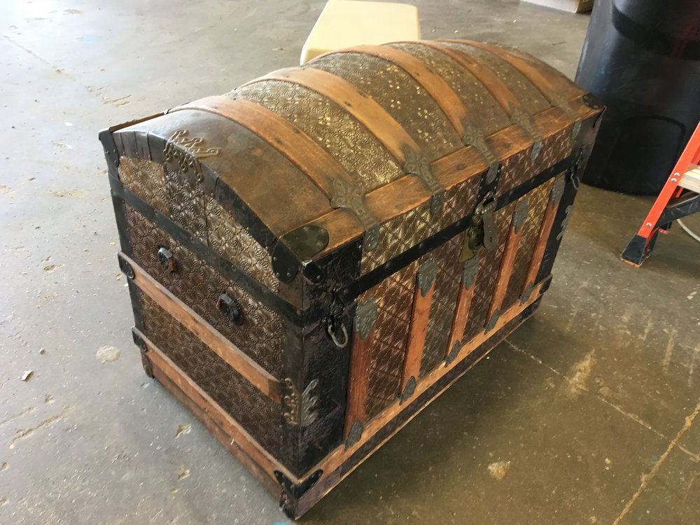 The 200 year old ice-chest