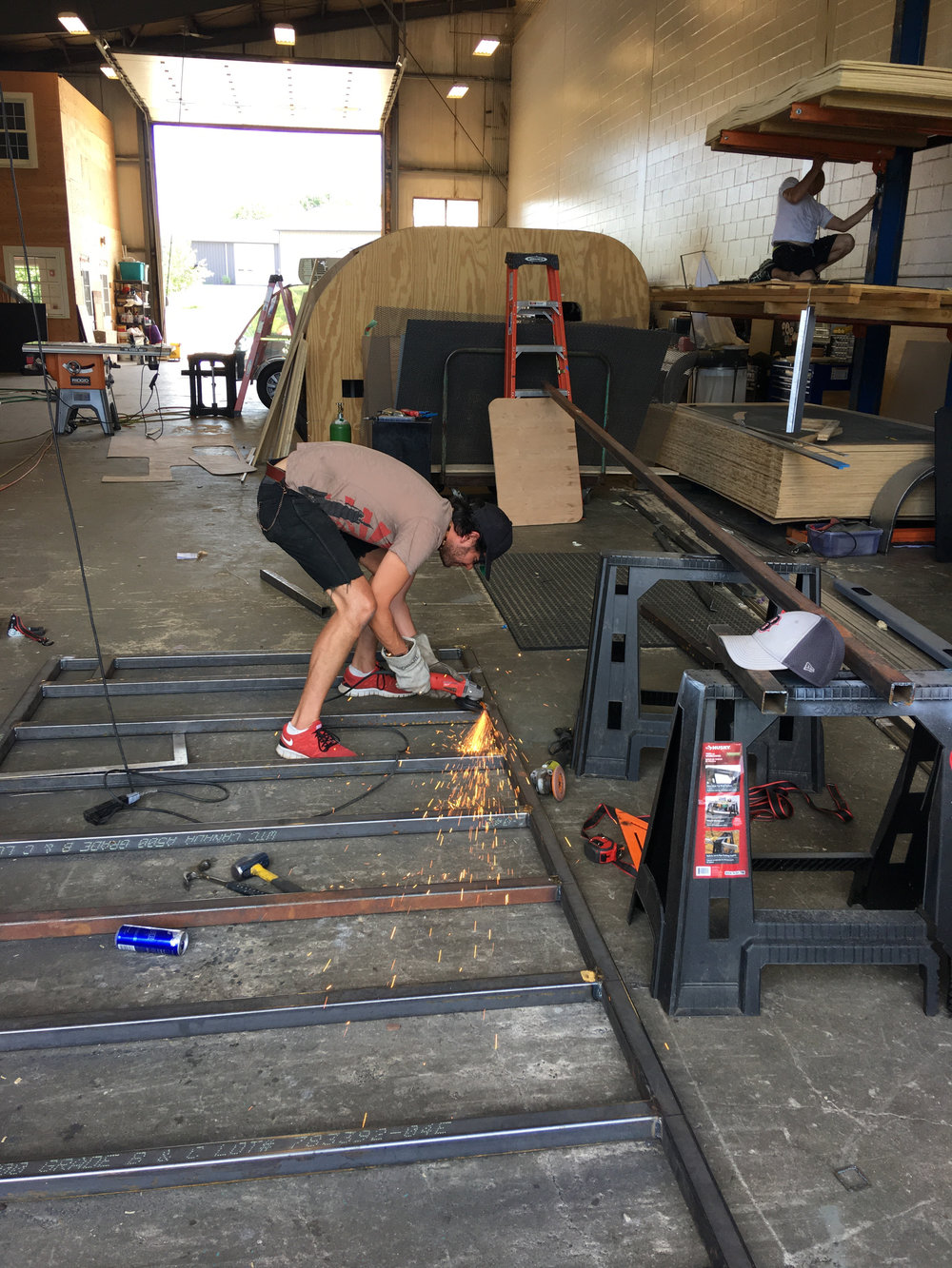 Welding the Frame