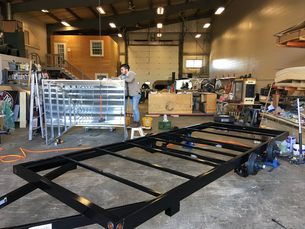 Frame at the shop
