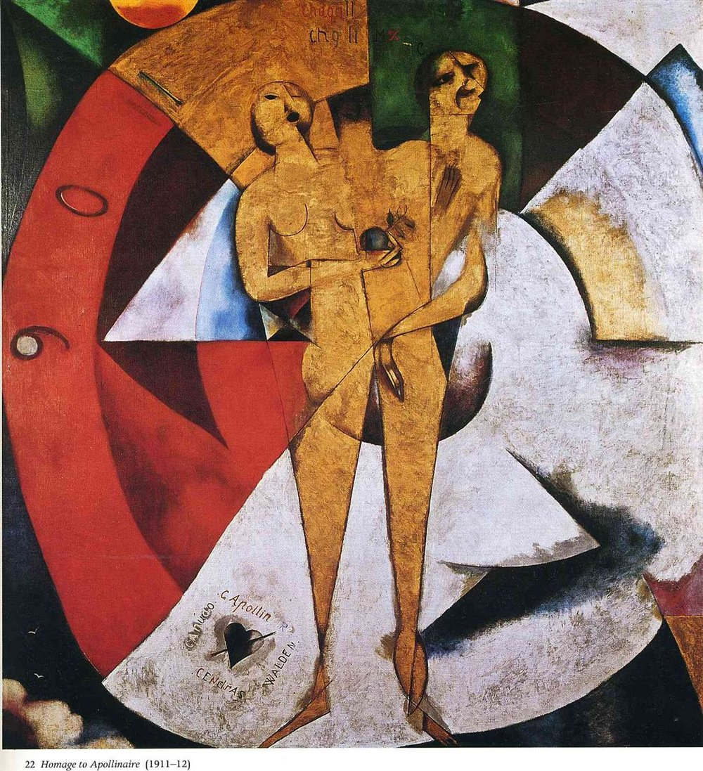 Homage à Apollinaire, Marc Chagall