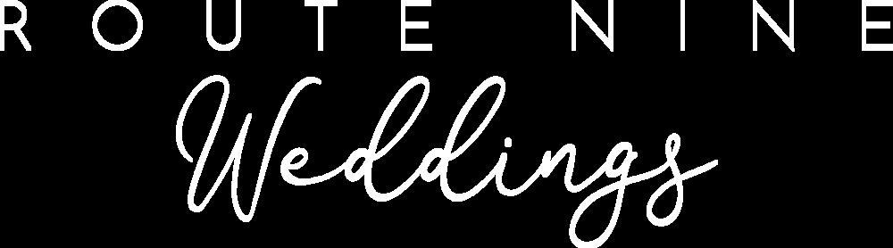 Route Nine Weddings Logo