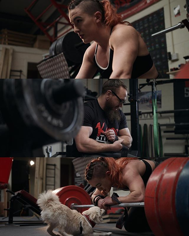 We finished a very exciting edit today! Keep your eyes peeled for our mini documentary all about the guys over at @kaosstrengthgym very soon! 👀 in the meantime, here is a little #sneakpeek