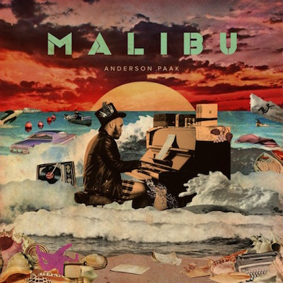 Malibu, Anderson .Paak, album cover