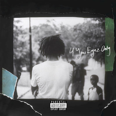 J. Cole. 4 Your Eyez Only, album cover