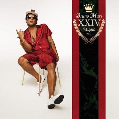 Bruno Mars, 24K Magic, album cover