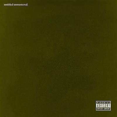 Kendrick Lamar, untitled unmastered., album cover