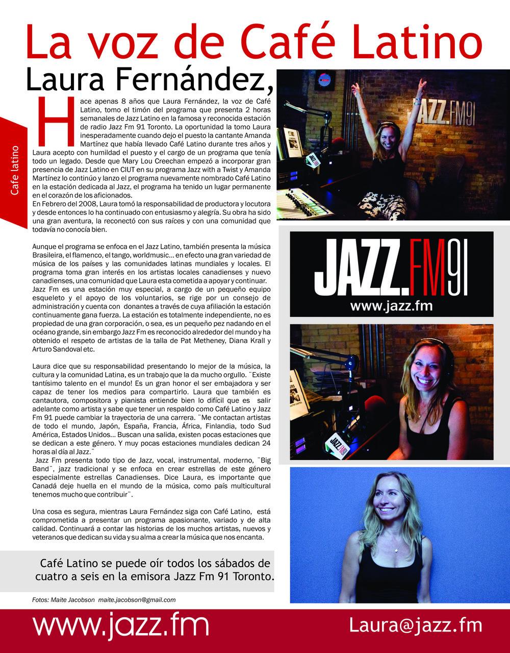 Laura Fernandez La Guia Interview