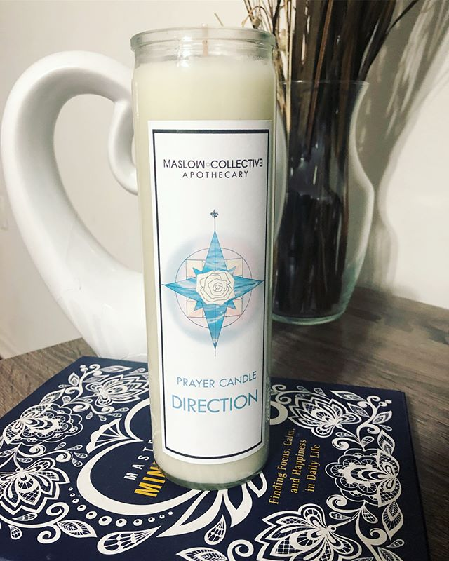 Another custom prayer candle made for a happy customer ☀️😊💛🌙 make sure to get your orders in at MaslowCollective.com!!!! #maslowcollective #customcandles #prayercandle #candles